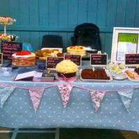 Cake stall.